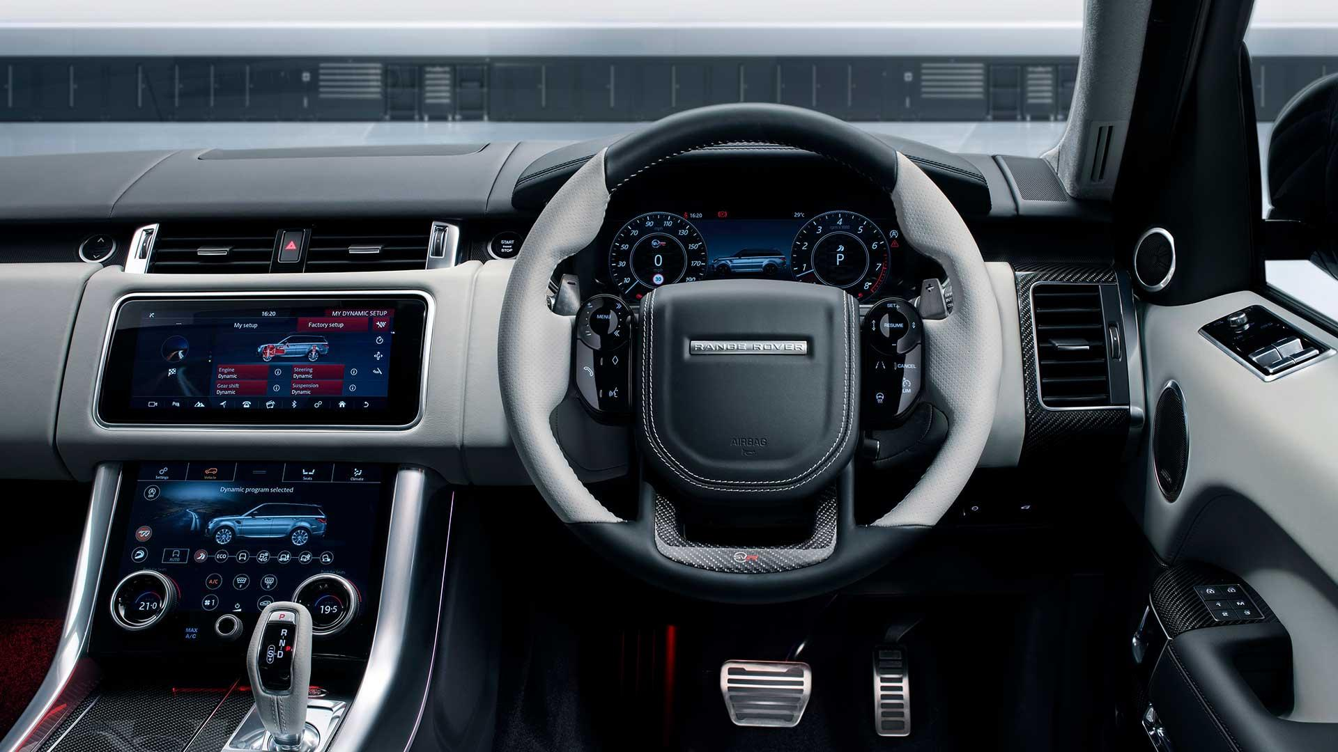 Interieur Range Rover Sport SVR Ultimate Edition