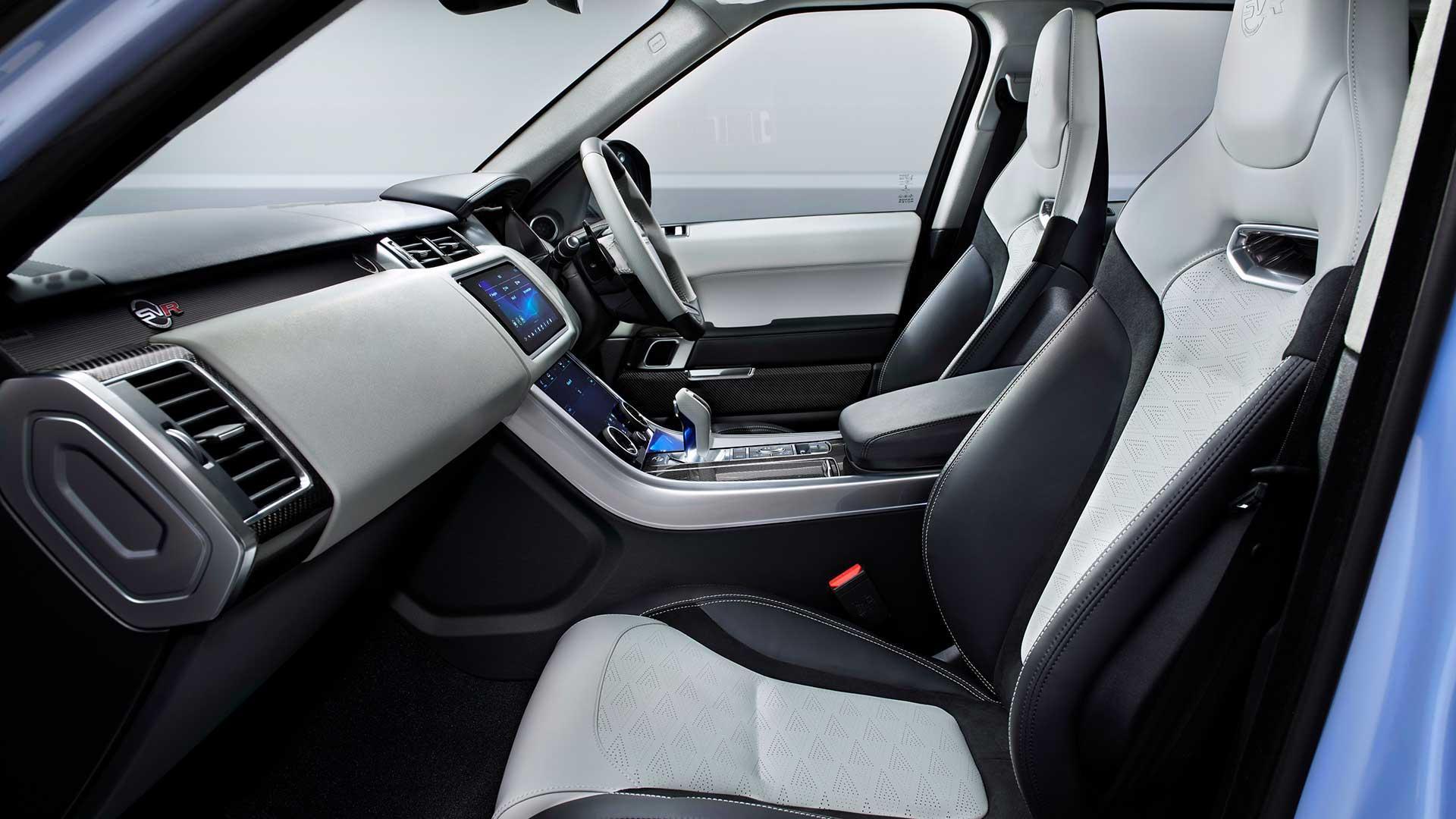 Stoelen Range Rover Sport SVR Ultimate Edition