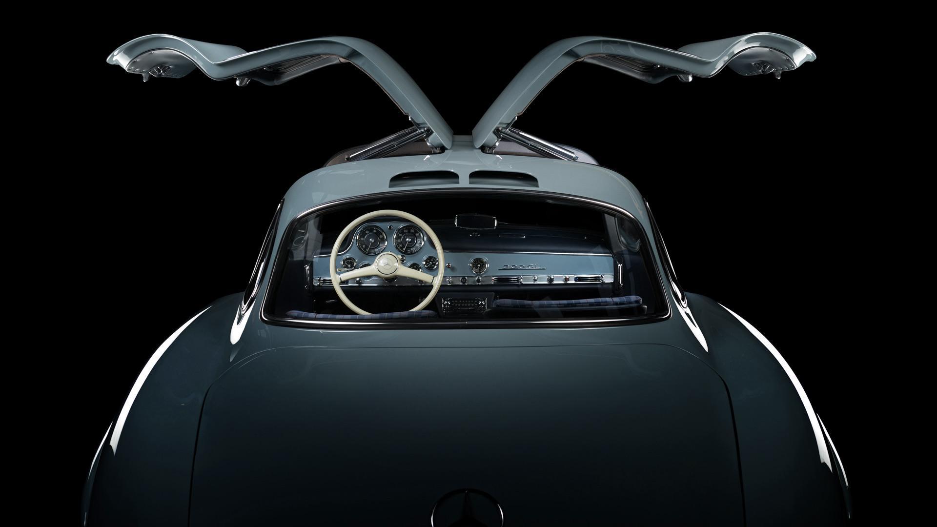 Mercedes 300 SL gullwing-vleugeldeuren