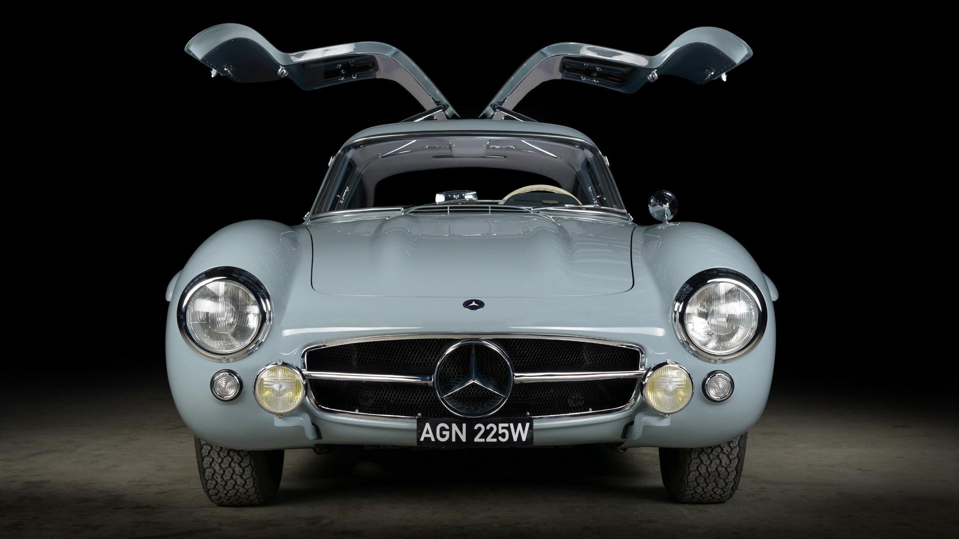 Mercedes 300 SL gullwing-deuren