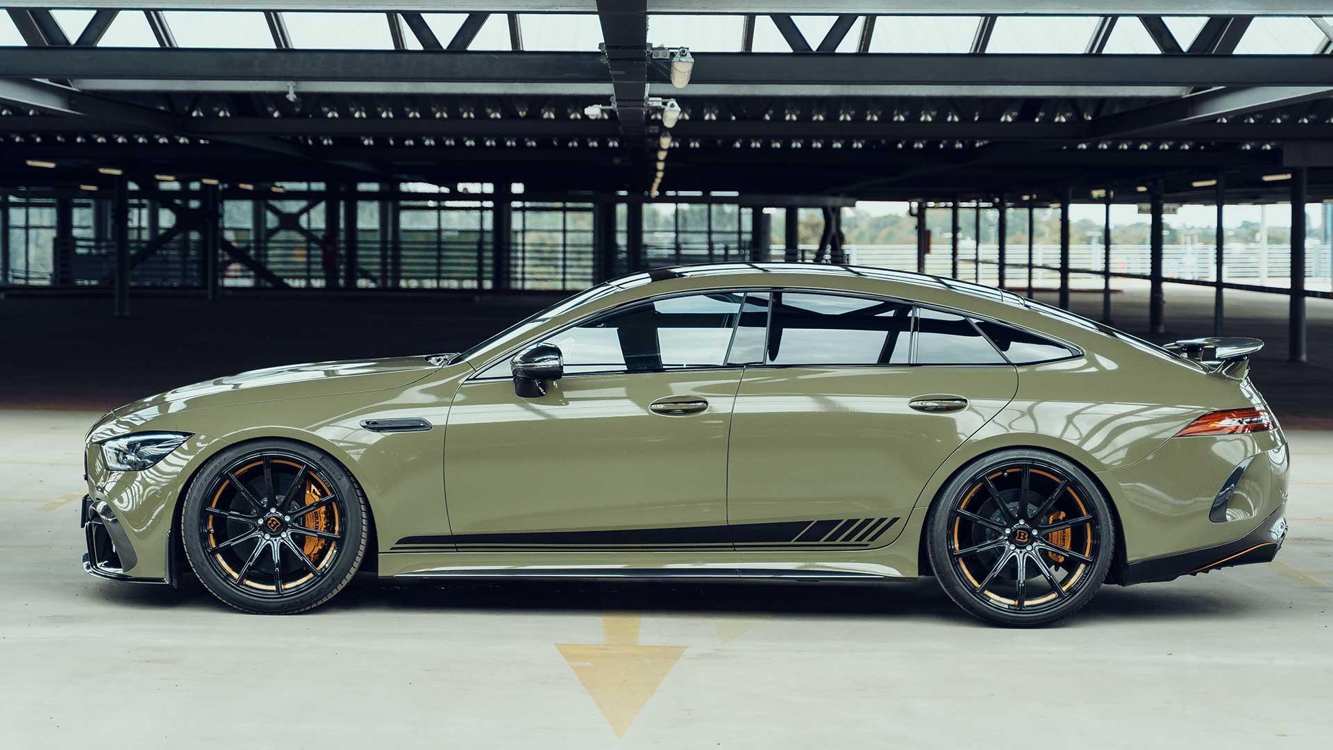 Zijkant Fostla Brabus 800 (Mercedes-AMG GT 63 4-Door Coupé)