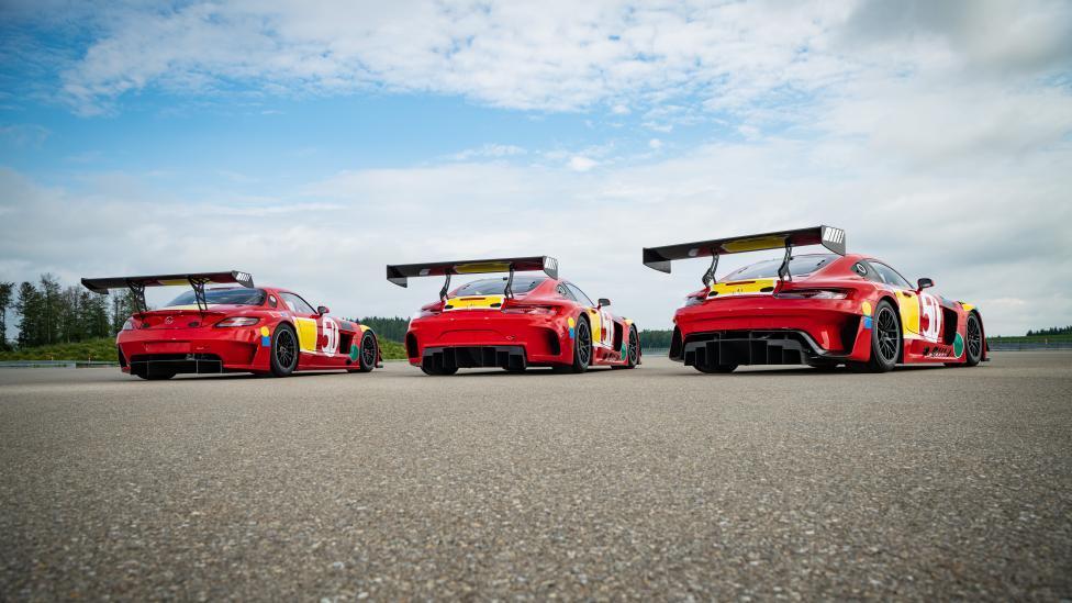 Mercedes SLS AMG GT3, en nieuwere