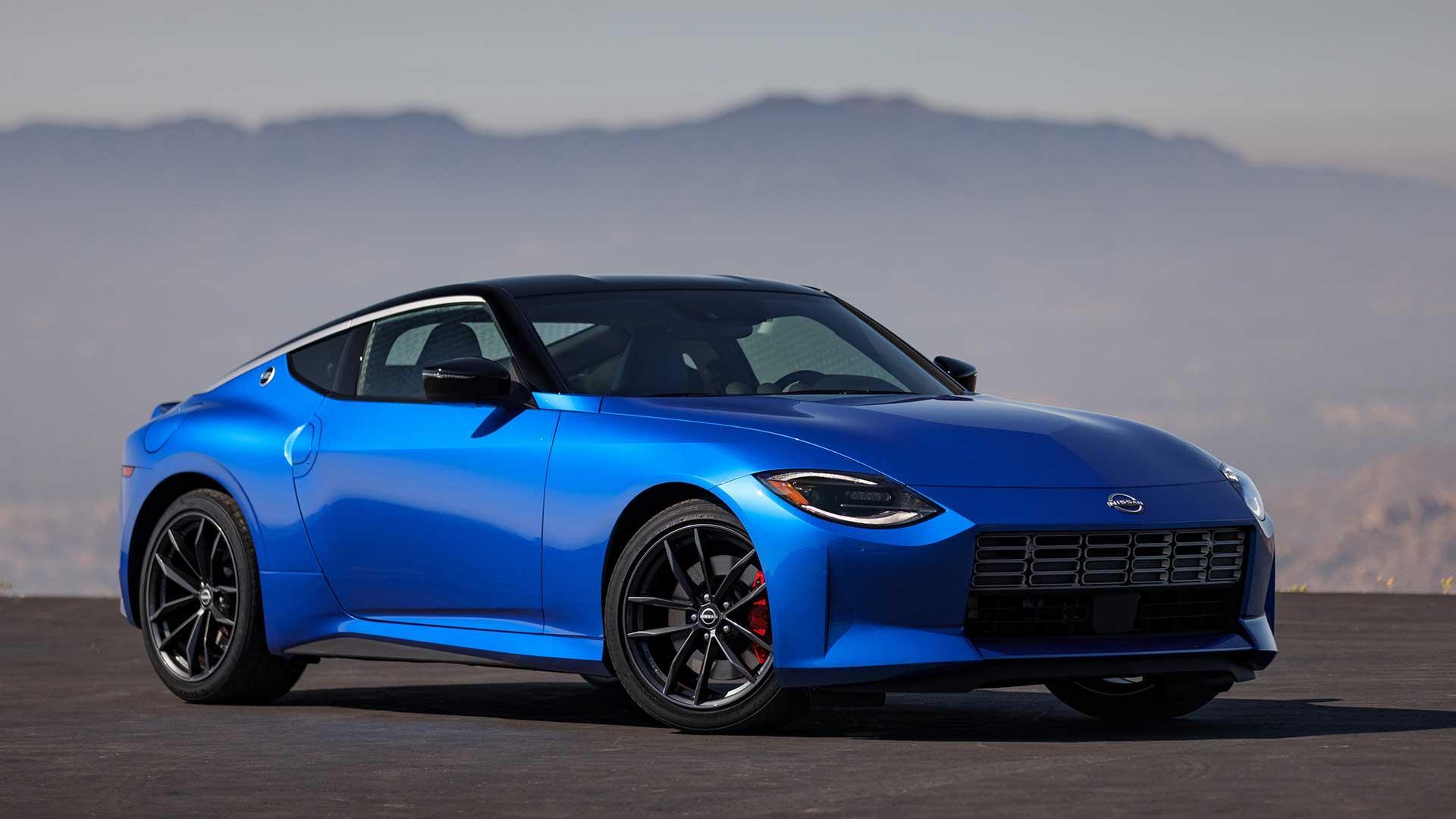 Nissan Z (blauw)