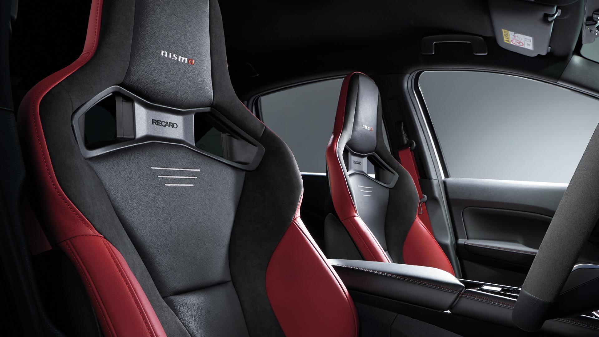 Recaro-stoelen Nissan Note Nismo (Japan)