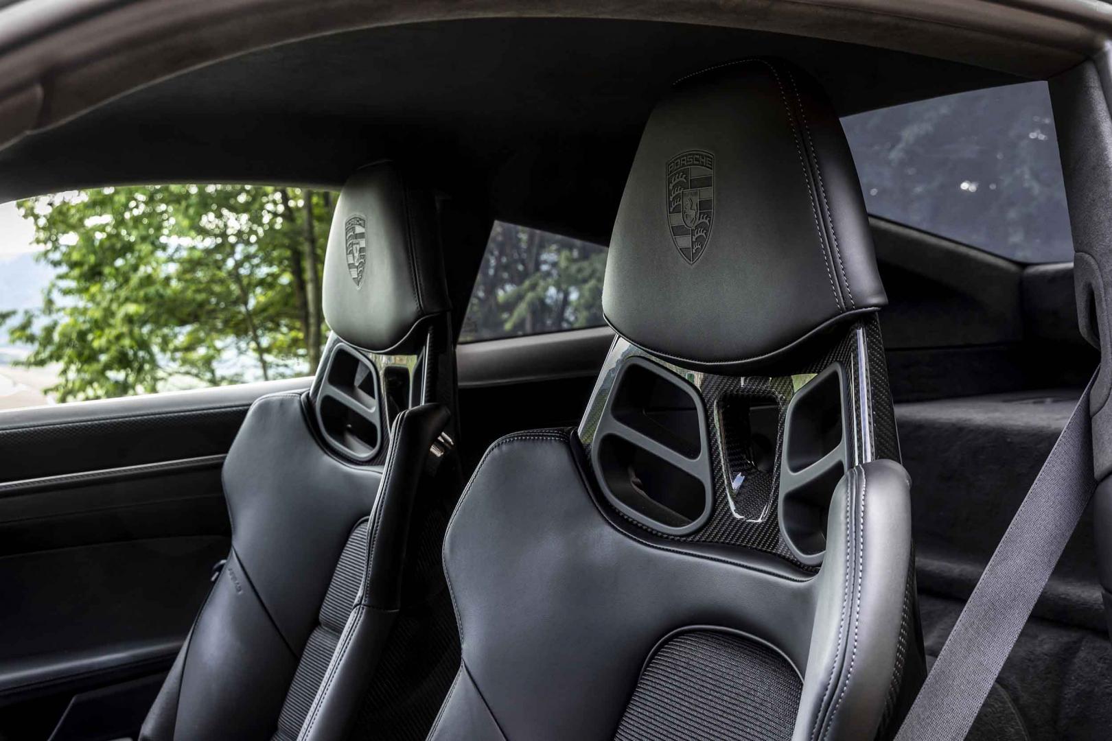 Koolstofvezel stoelen Porsche 911 GT3 Touring (992, 2021)