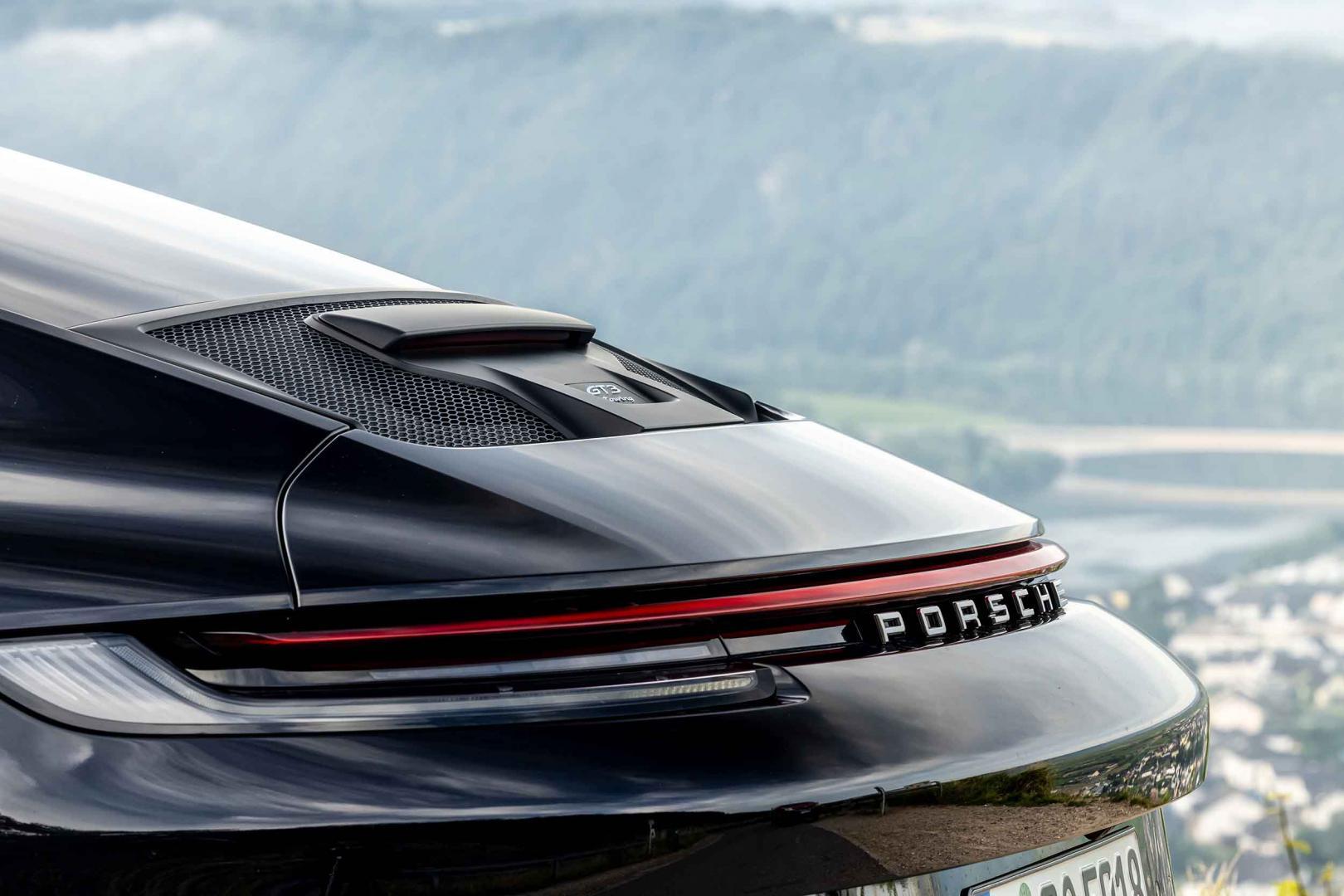 Spoiler Porsche 911 GT3 Touring (992, 2021)