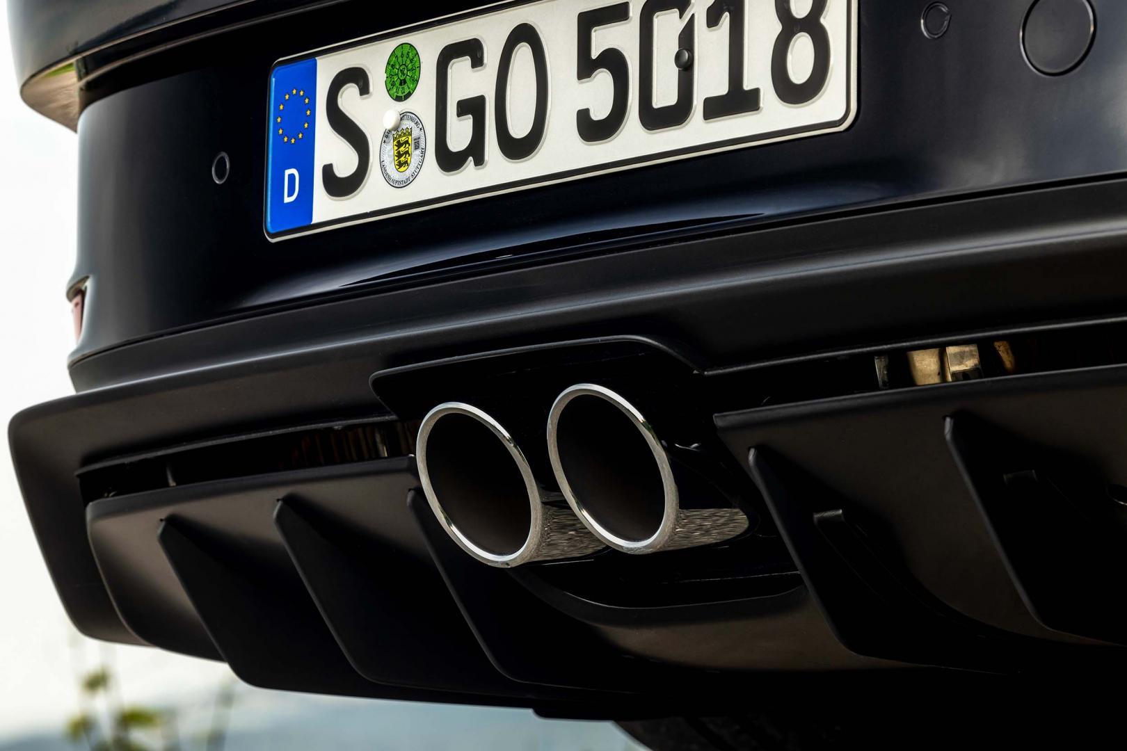 Uitlaat Porsche 911 GT3 Touring (992, 2021)