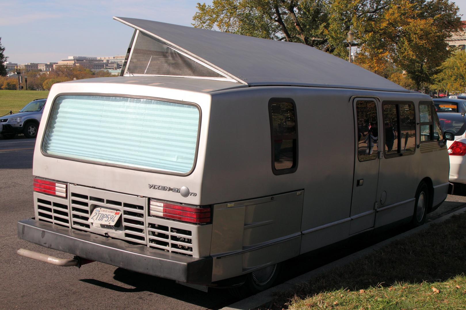 Vixen 21: coolest camper