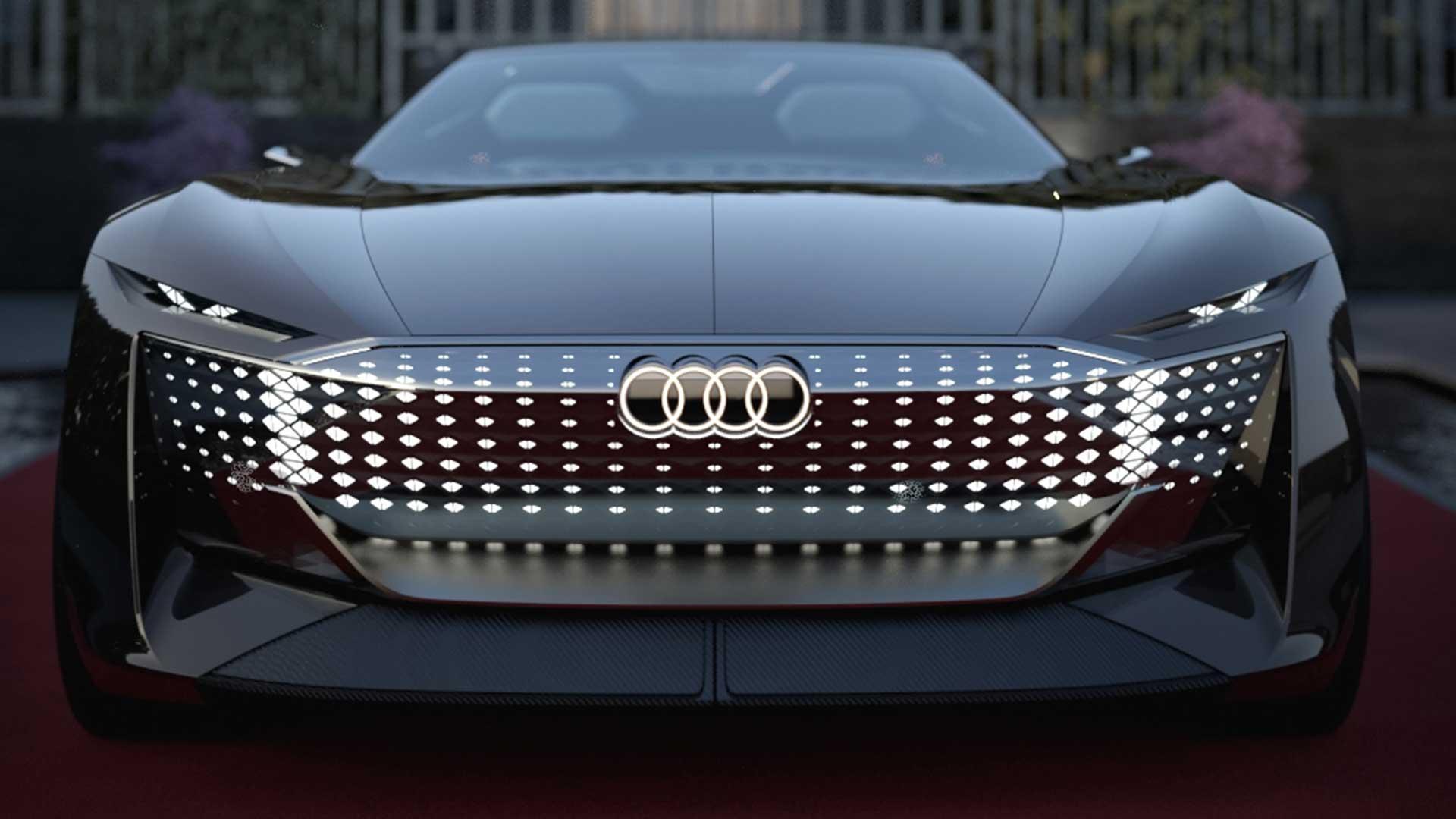 Voorkant Audi Skysphere
