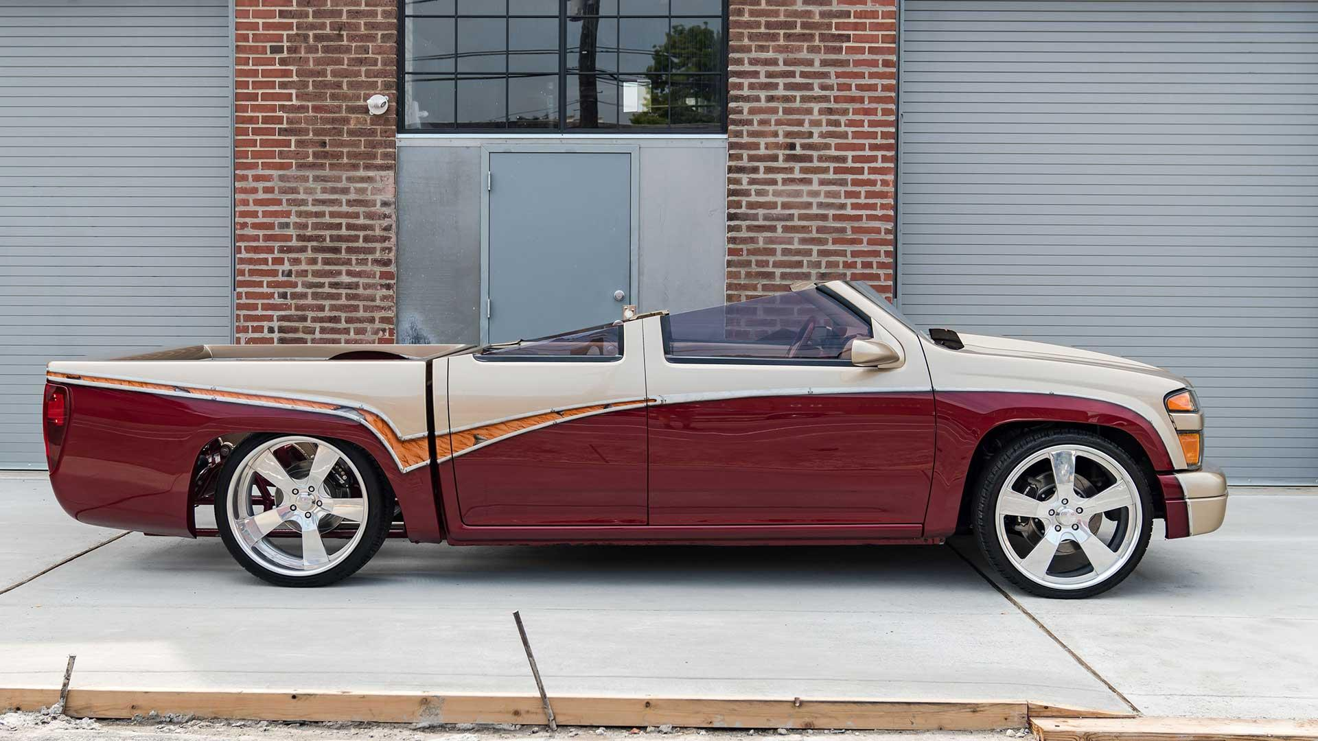 Zijkant Chevrolet Colorado Custom (Cool Cars Engineering)
