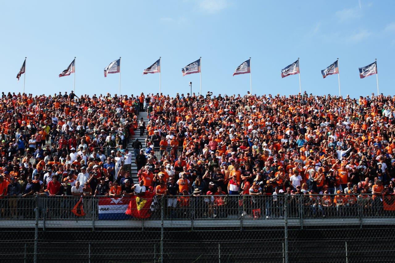 3e vrije training van de GP van Nederland 2021