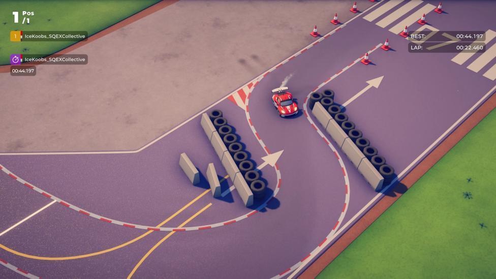 Sterren racen op TopGear Testcircuit in Circuit Superstars