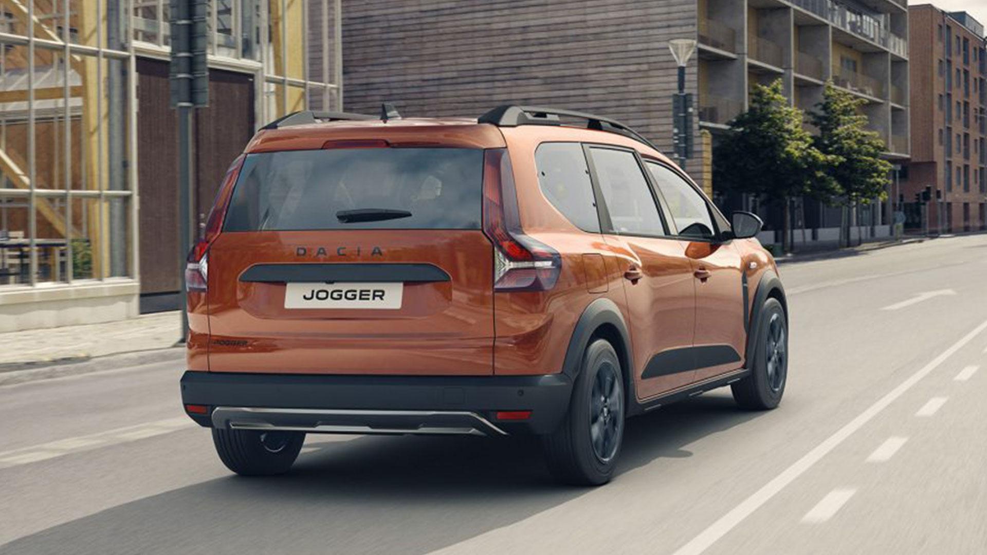 Achterkant Dacia Jogger (2021)