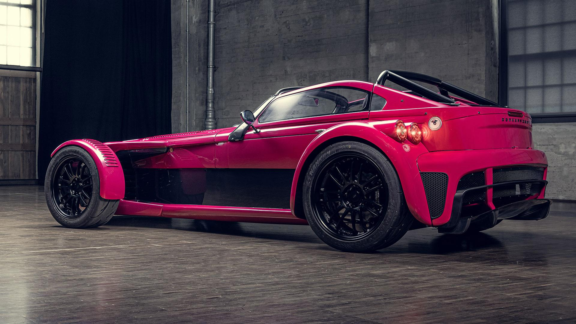 Achterkant Donkervoort D8 GTO Individual