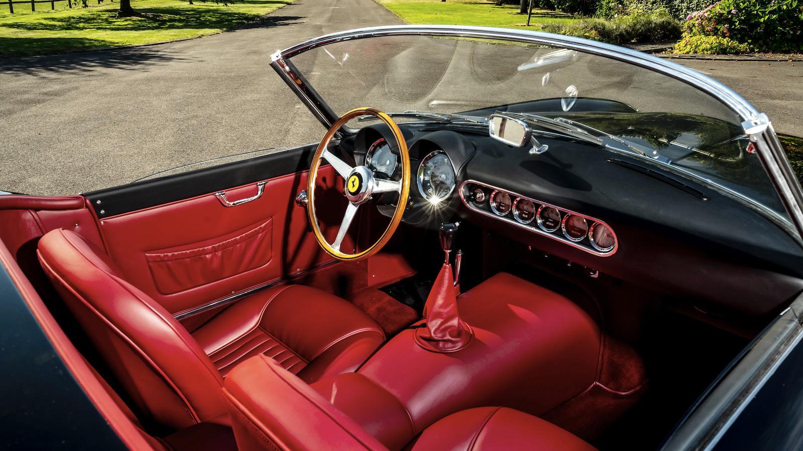 Interieur Ferrari 250 GT SWB California
