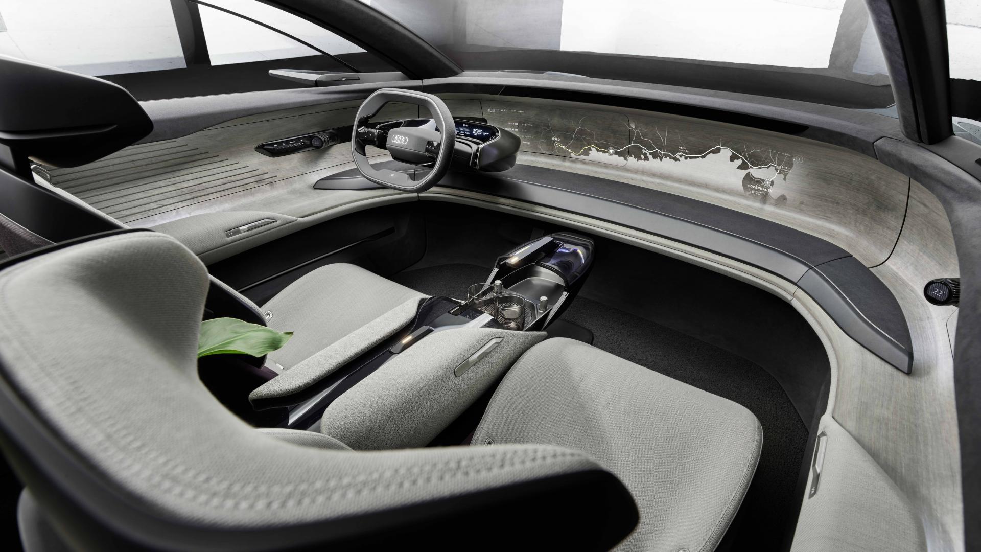 Interieur Audi Grandsphere
