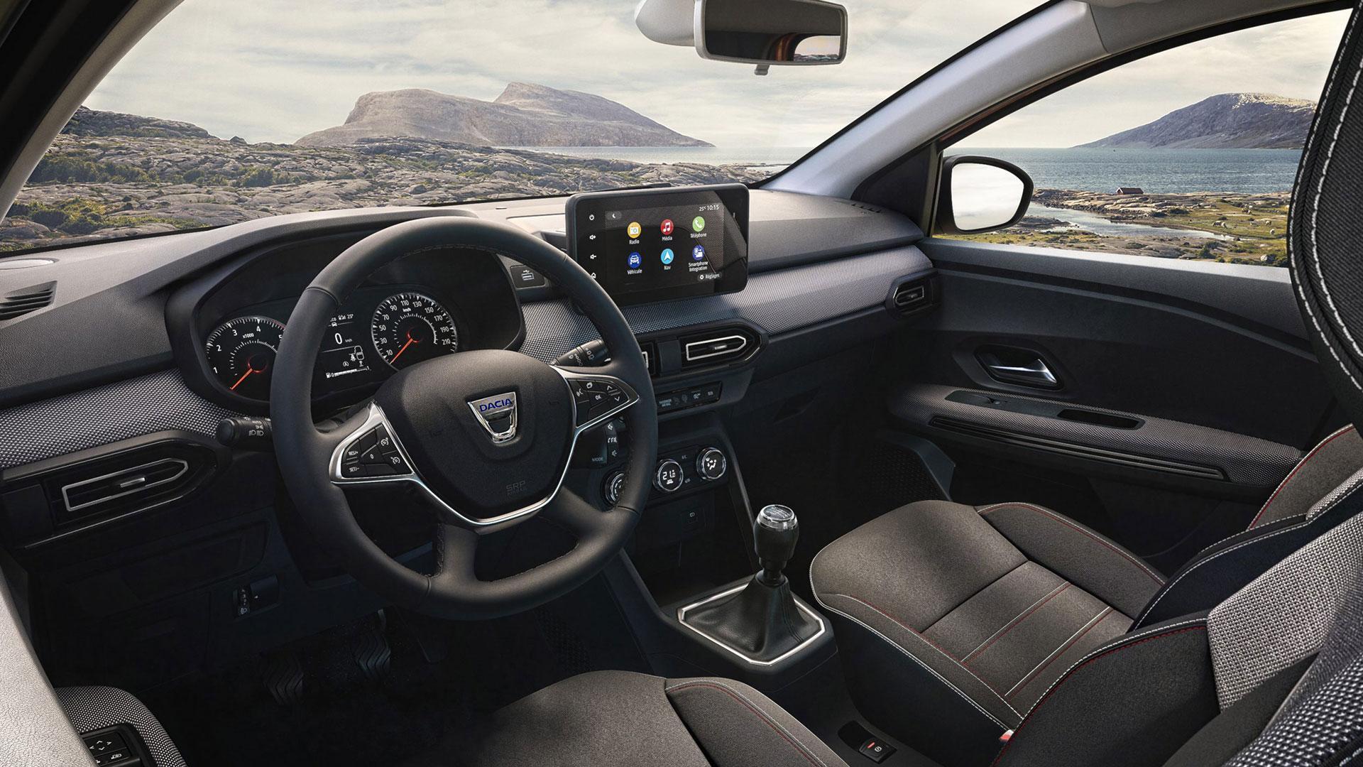 Interieur van de Dacia Jogger (2021)