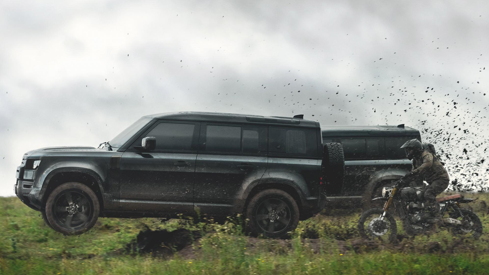 Land Rover Defender in No Time to Die