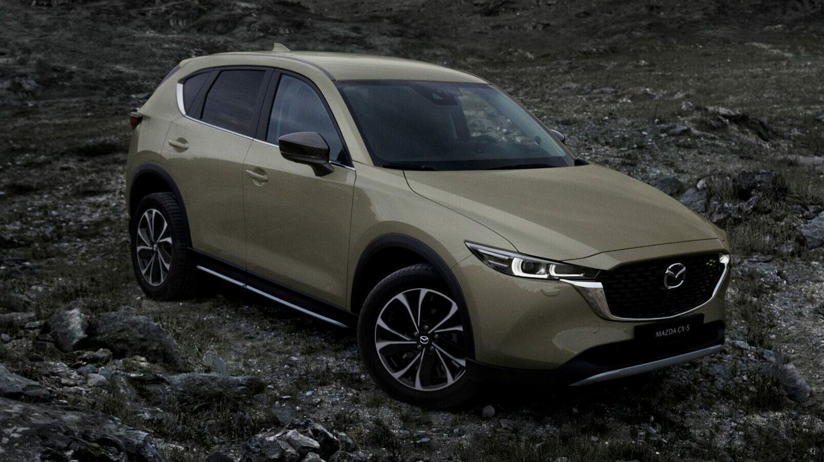Voorkant Mazda CX-5 (2022)