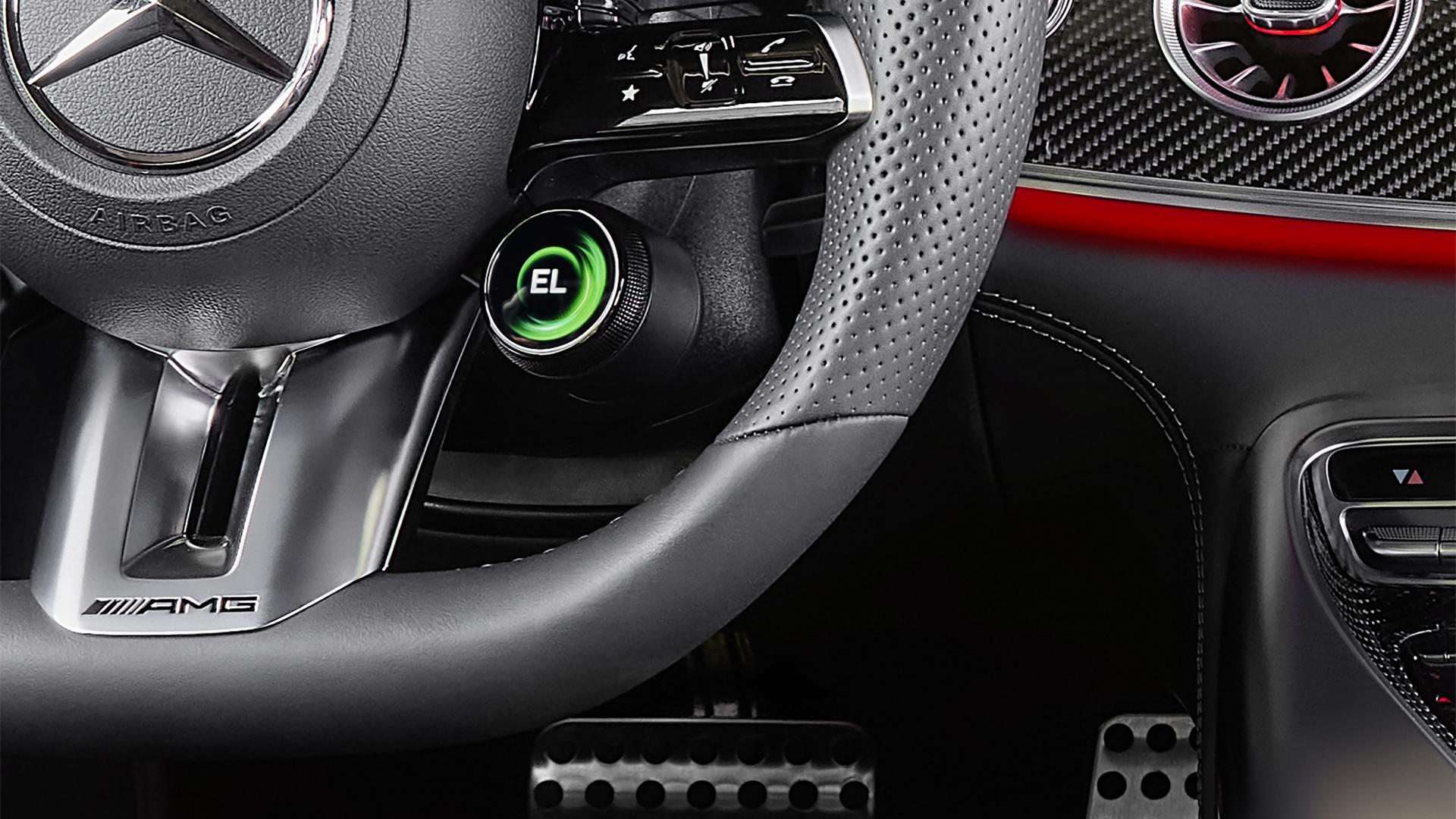 Stuur met knop Mercedes-AMG GT 63 S E Performance