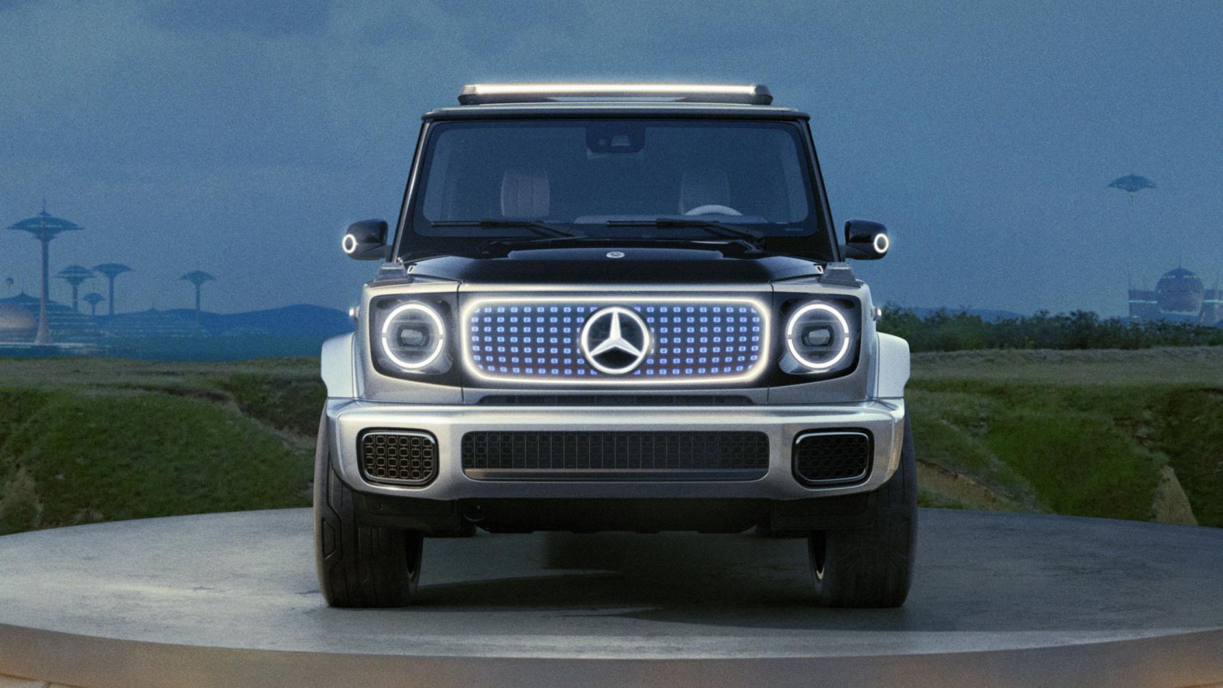 Mercedes EQG concept