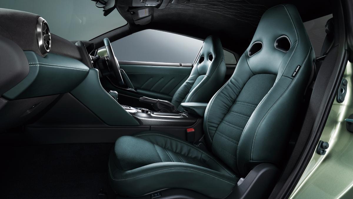 Interieur Nissan GT-R T-Spec