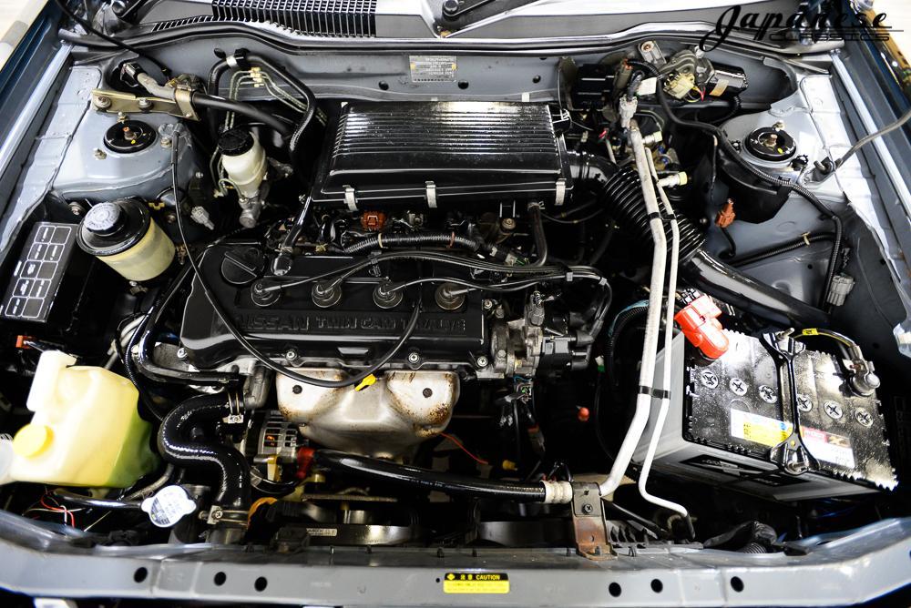 Motor Nissan Rasheen (Hummer ombouw)