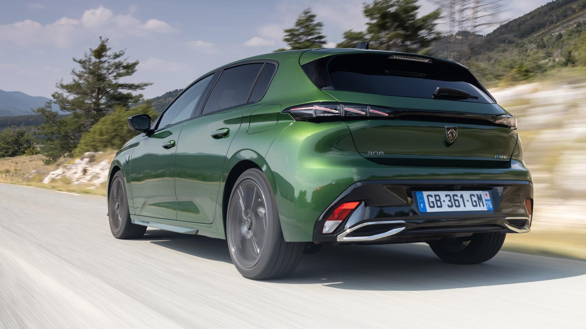 Peugeot 308 2021: 1e rij-indruk