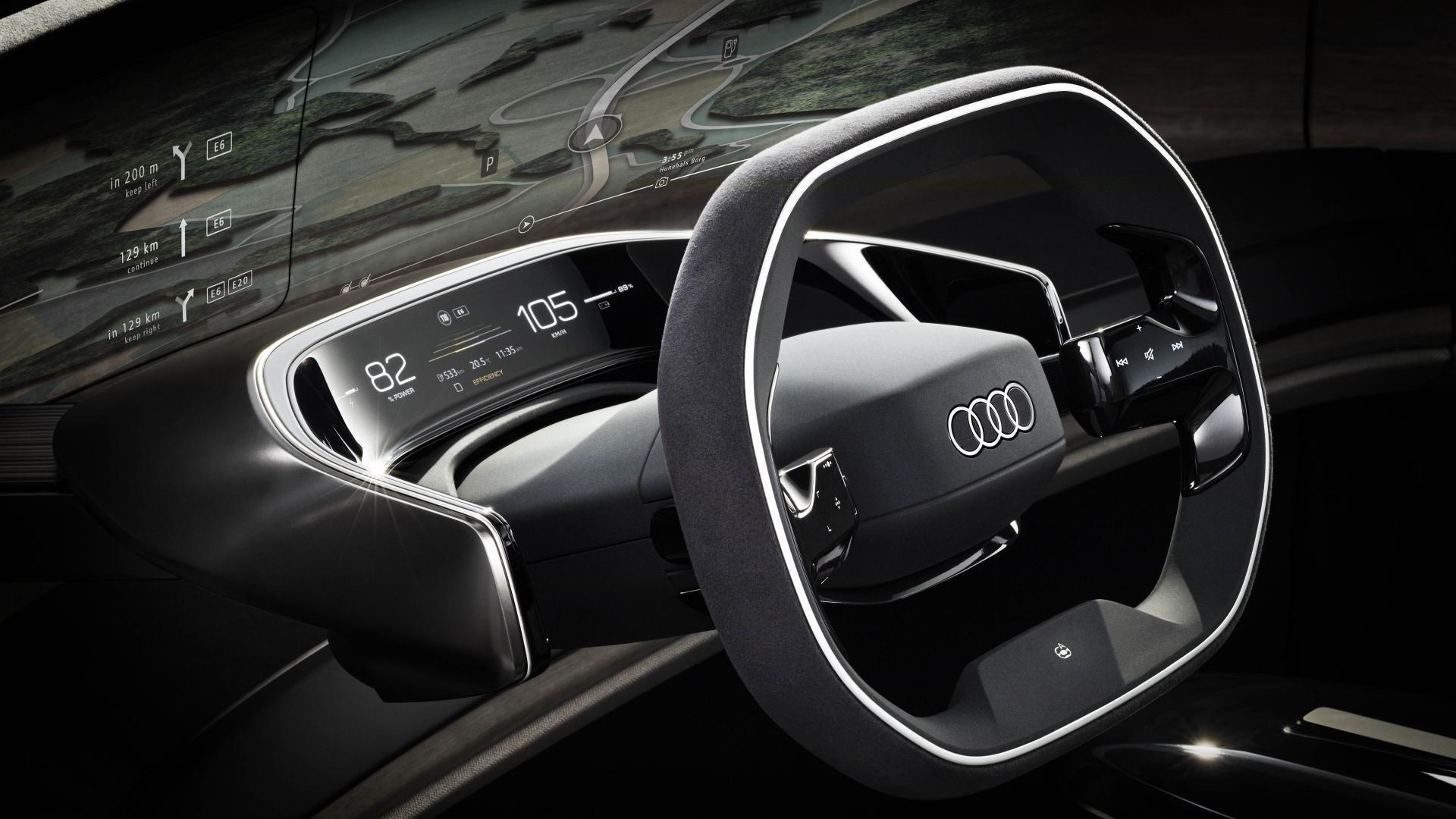 Stuur Audi Grandsphere