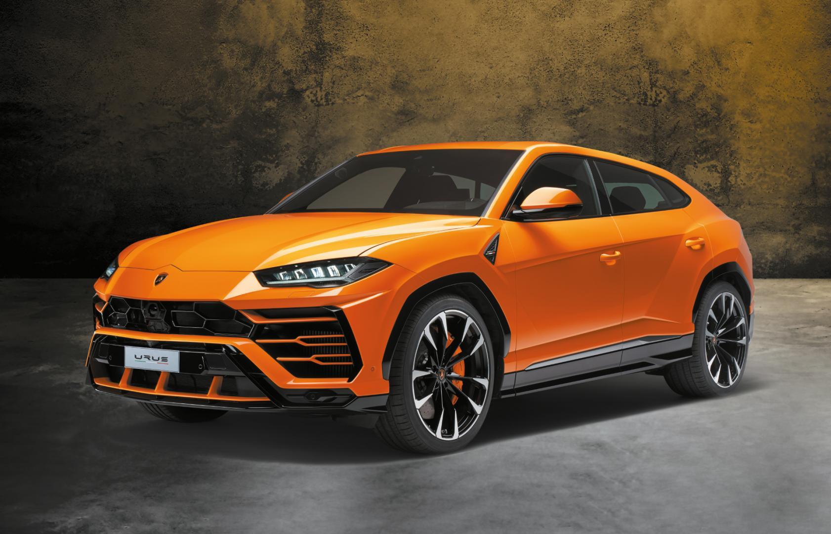 Geschiedenis van Lamborghini - Urus