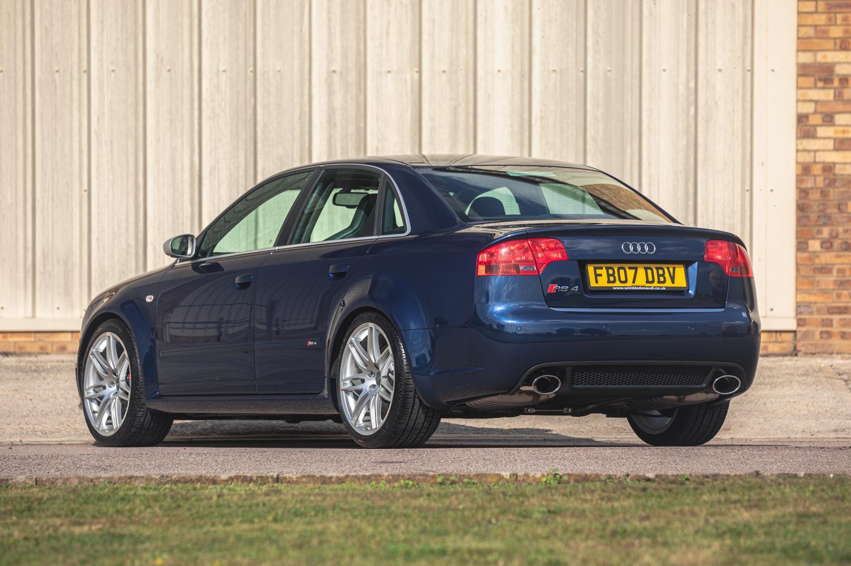 Achterkant Audi RS 4 (B7) 2007
