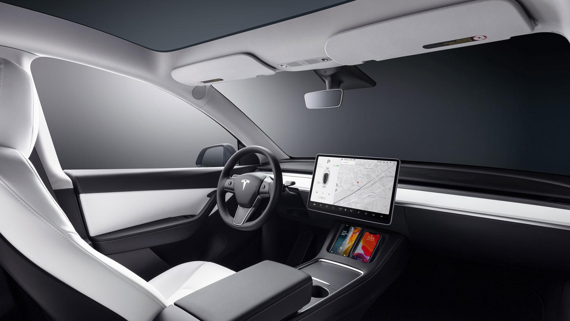 interieur Tesla Model Y (2021)