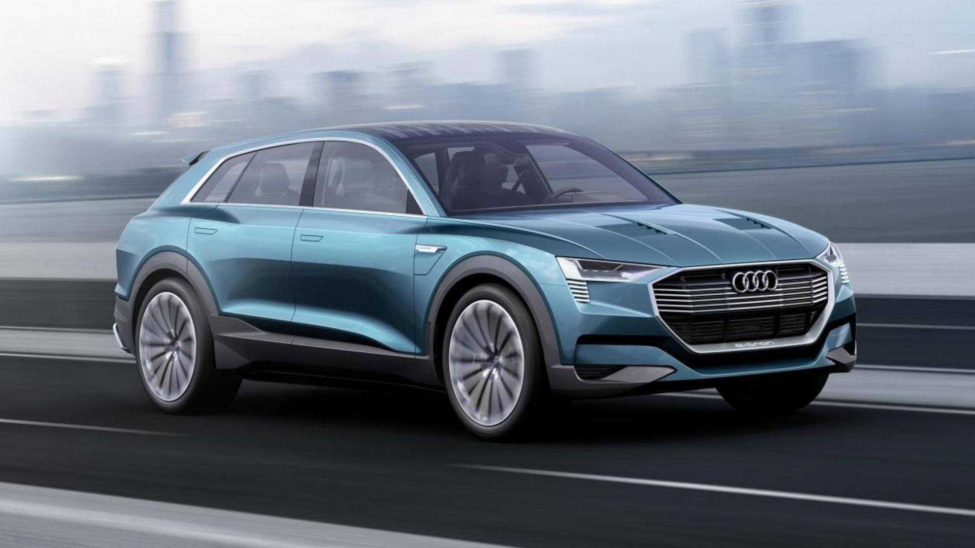 Audi Komt Met Elektrische Suv Topgear