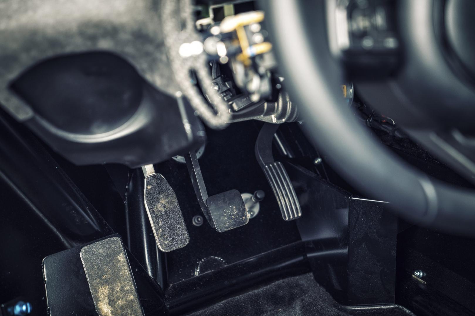 Jaguar C-X75 pedalen (2016)