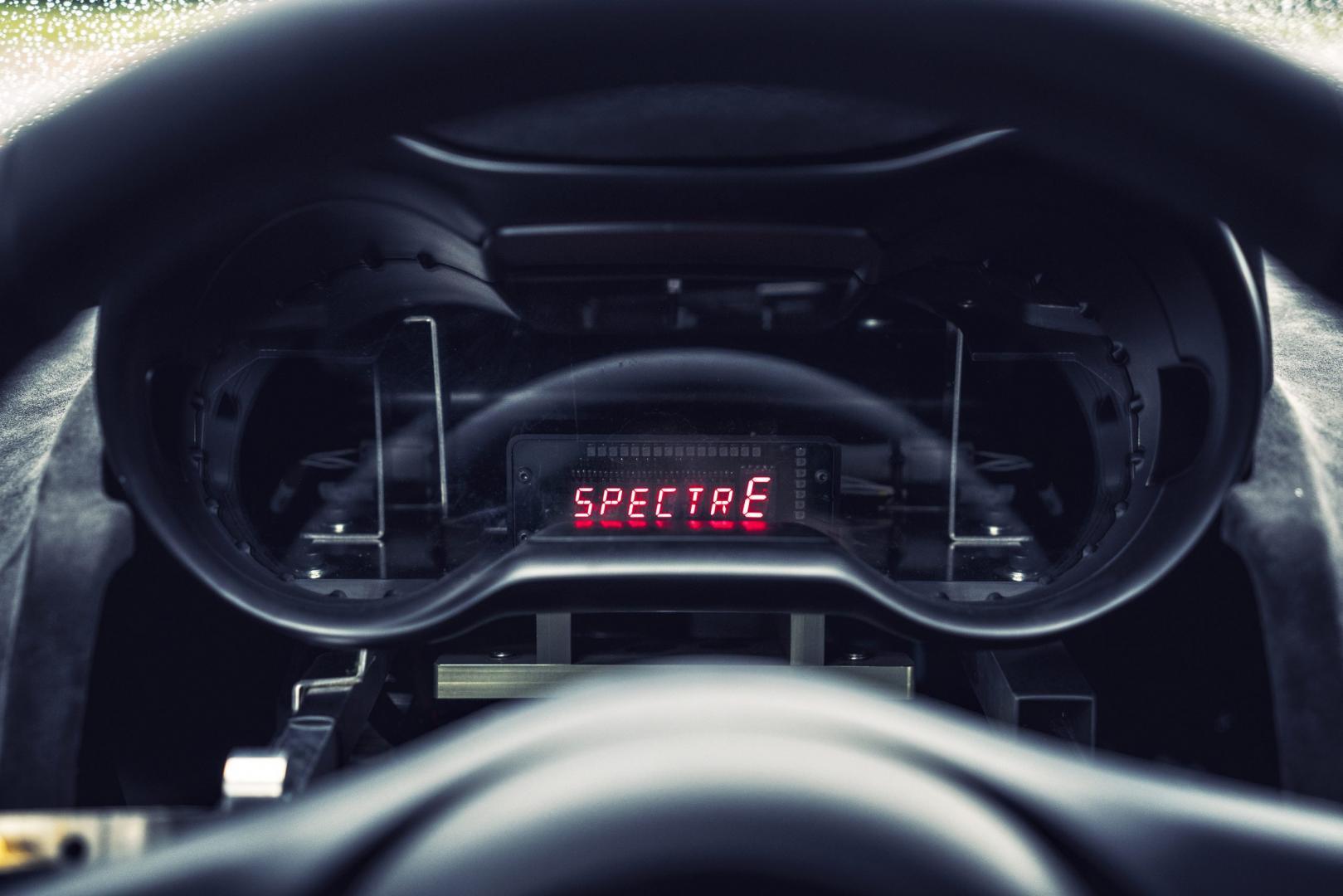 Jaguar C-X75 display (2016)