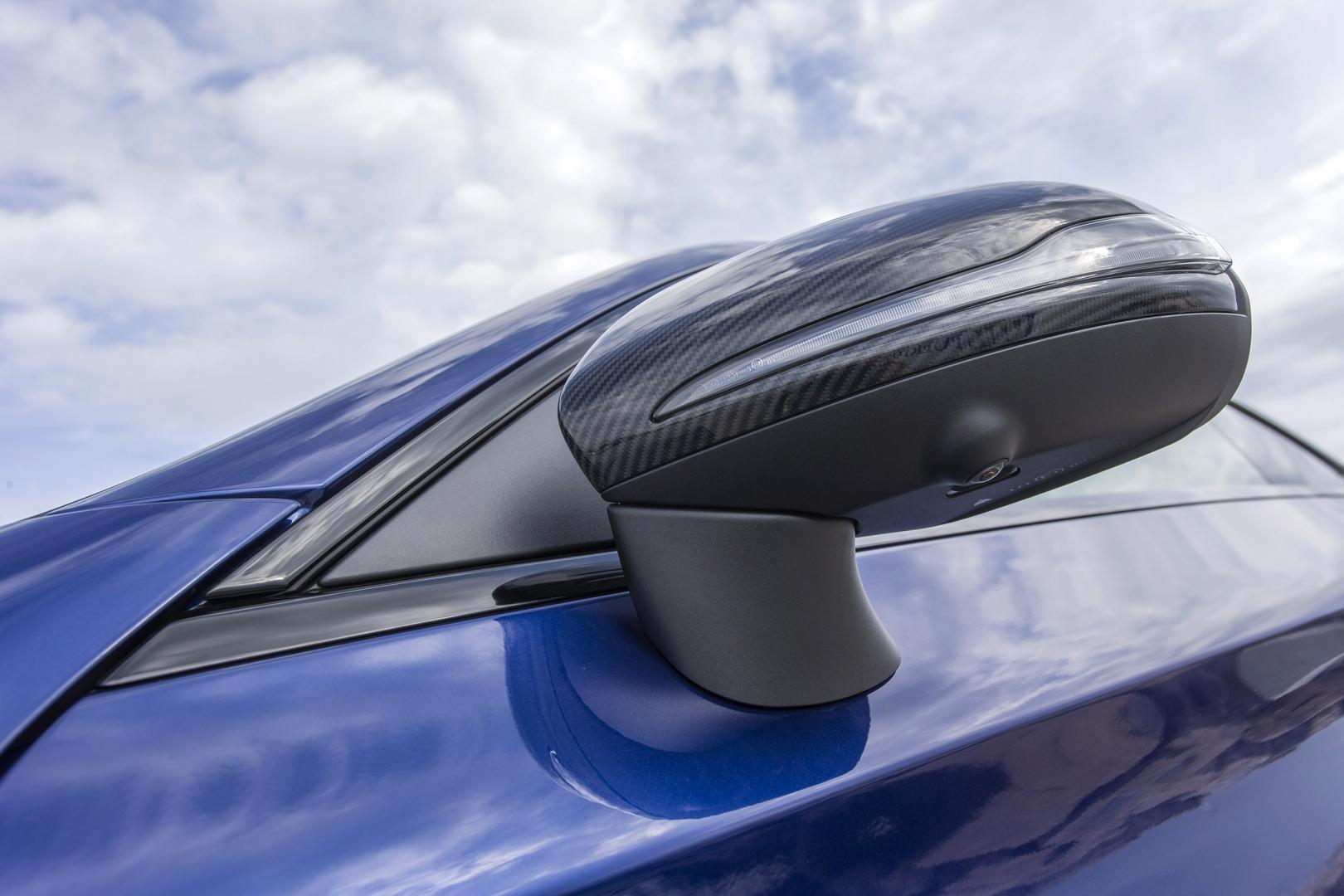 Mercedes-AMG C 63 S Coupé spiegel (2015)