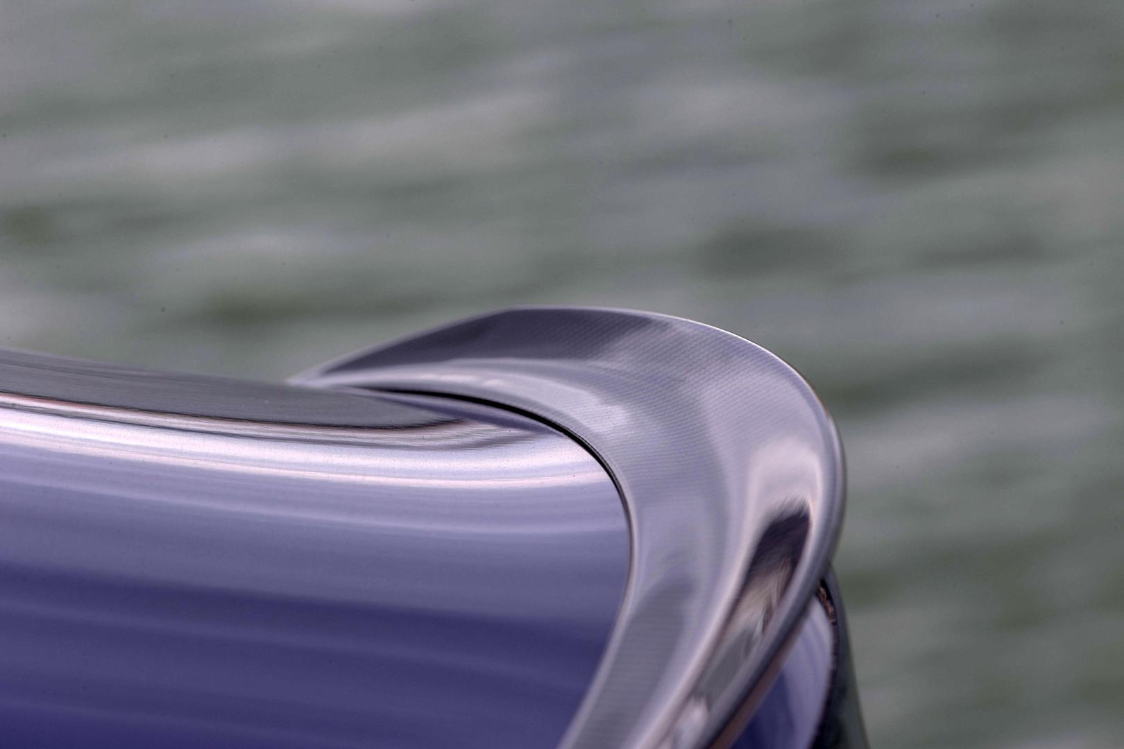 Mercedes-AMG C 63 S Coupé spoiler (2015)
