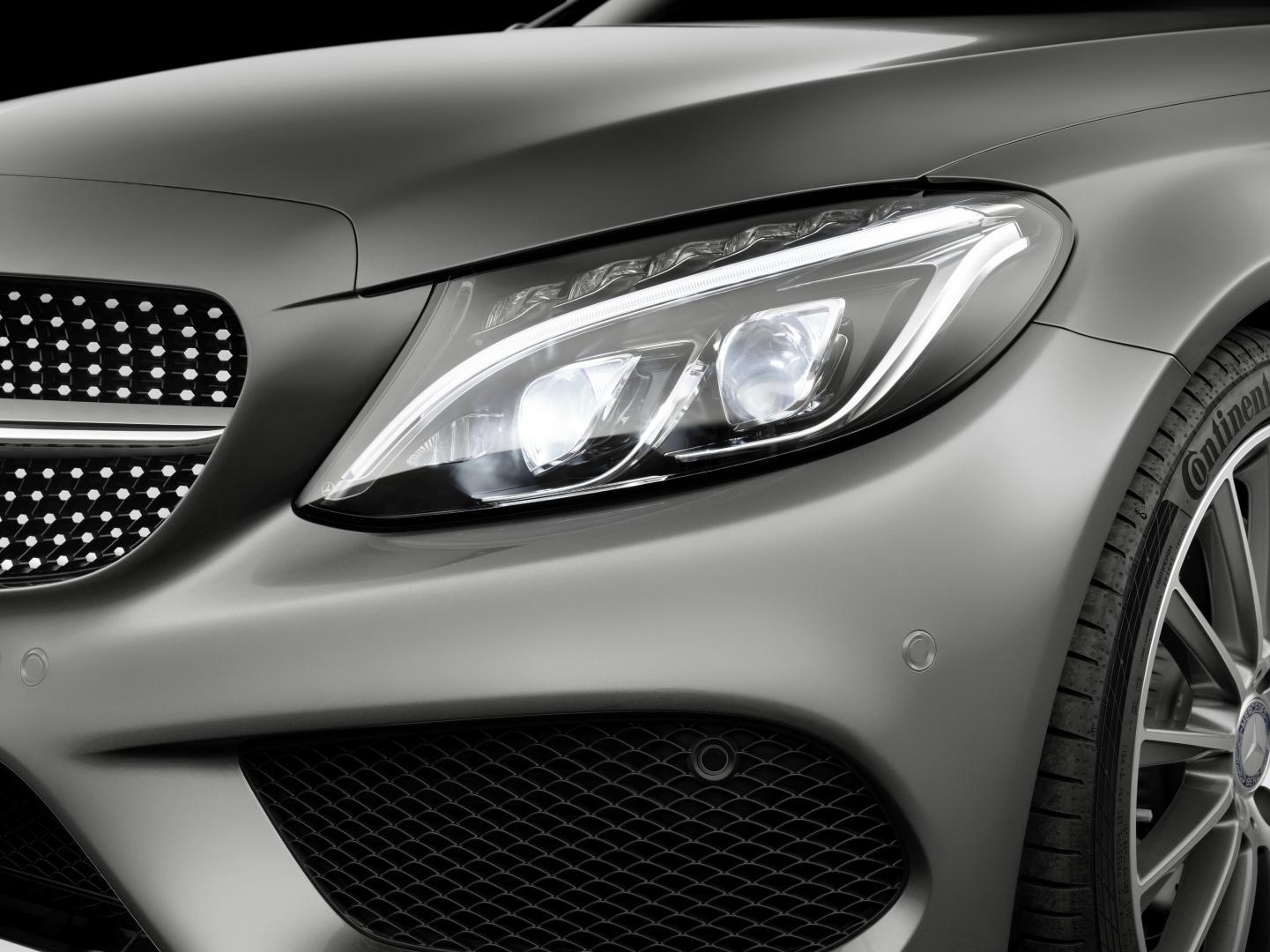Mercedes C300 Coupé AMG Line koplamp (2016)