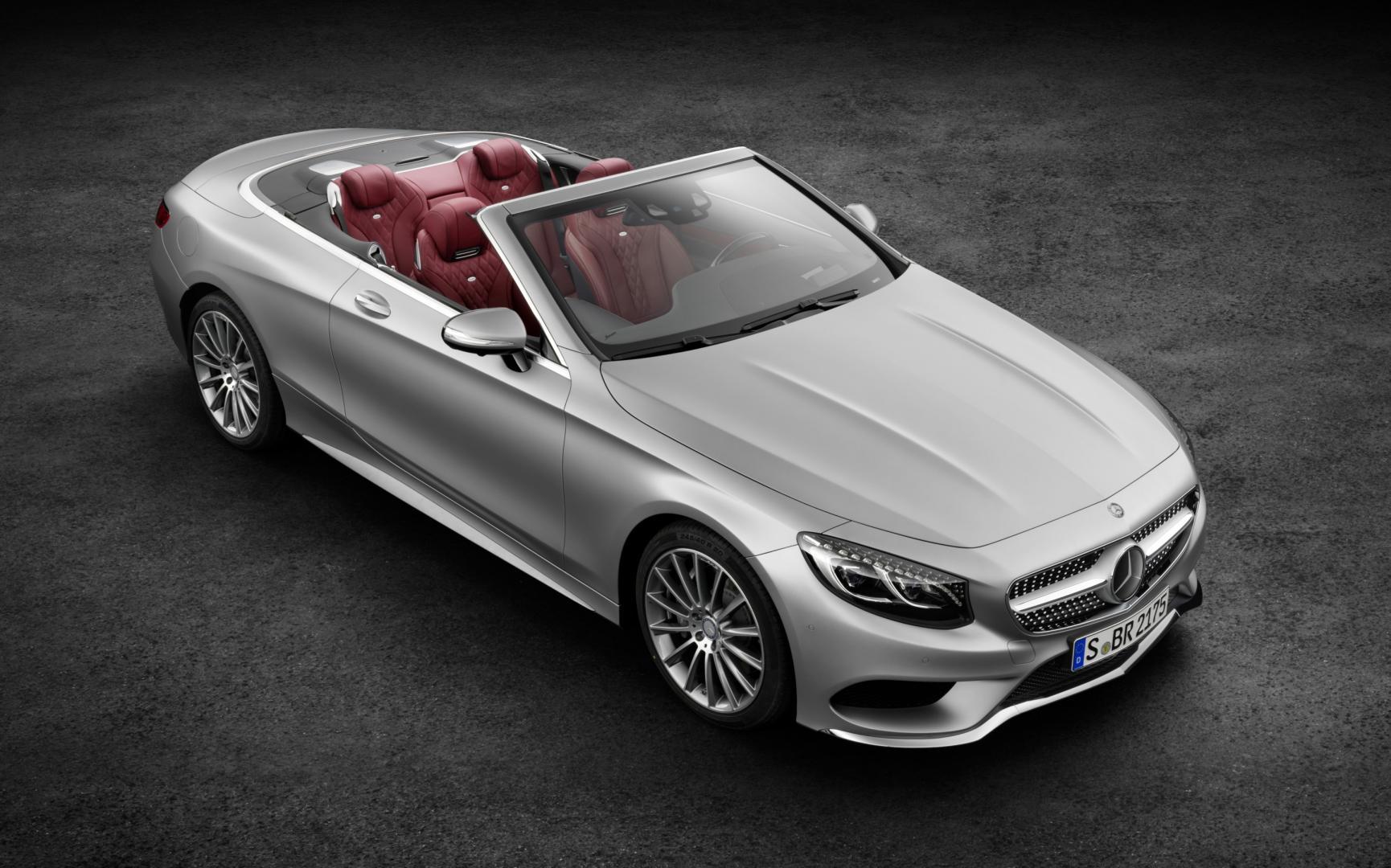 Mercedes S-klasse Cabrio is los - TopGear