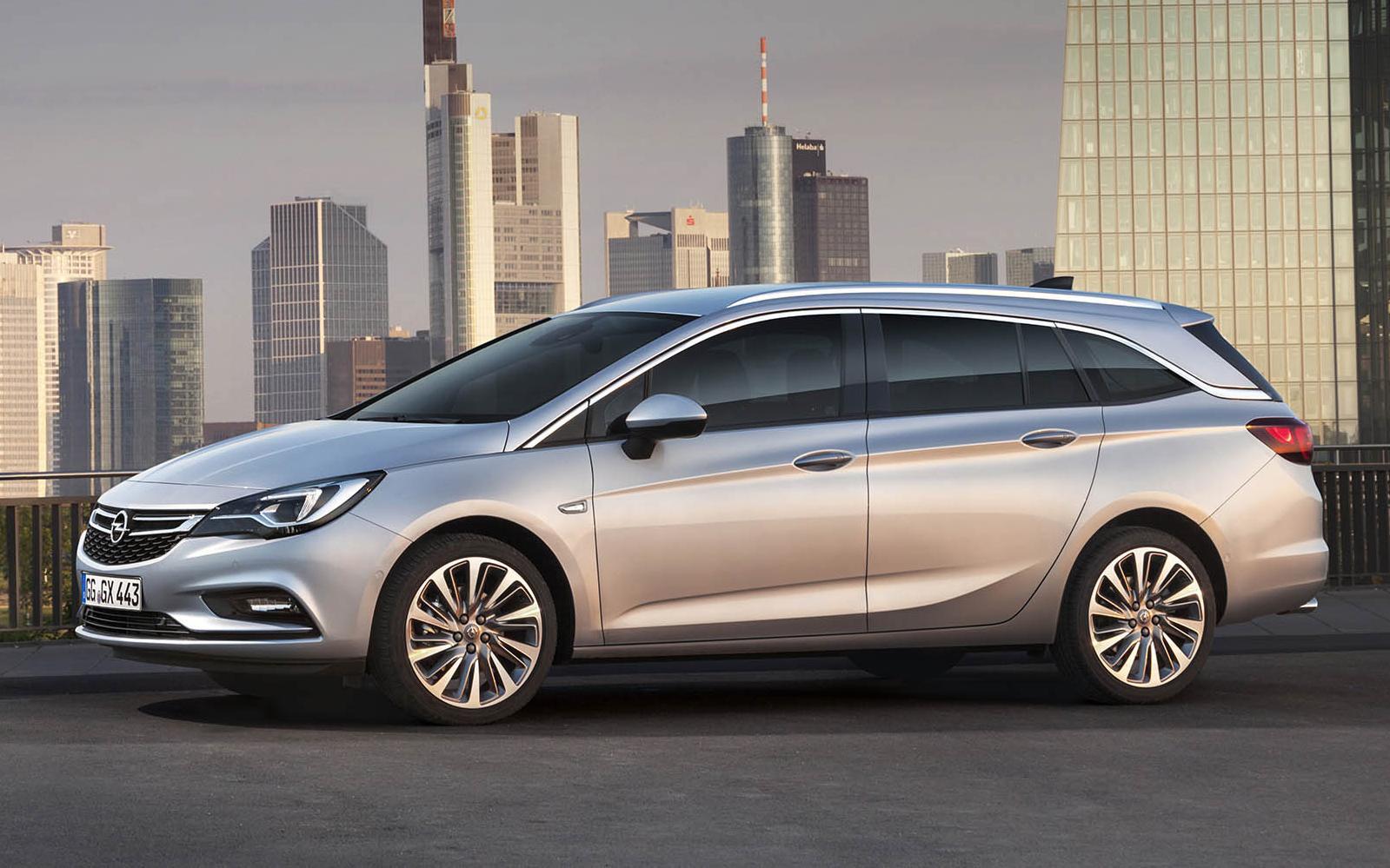 Opel Astra Sports Tourer Sjouwen Topgear