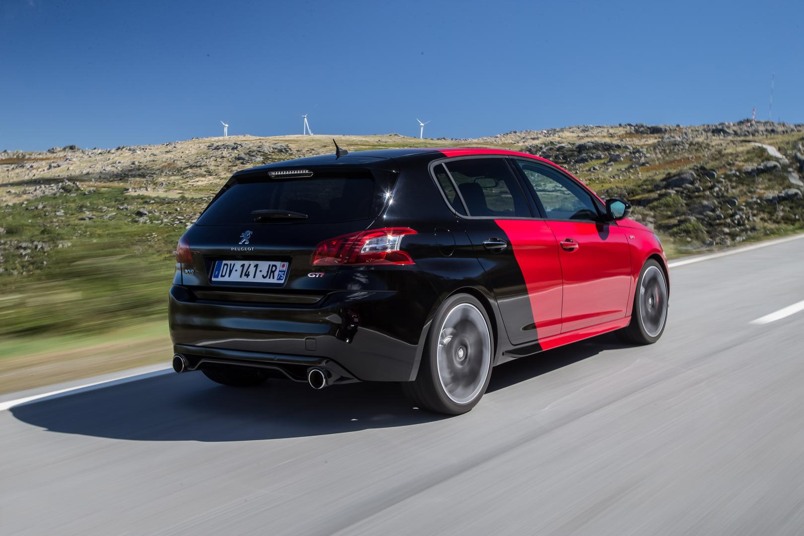 peugeot 308 gti 270 2015 test en specificaties topgear nederland. Black Bedroom Furniture Sets. Home Design Ideas