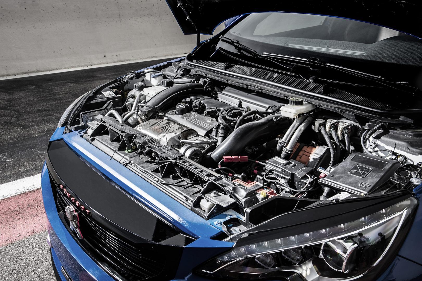 Peugeot 308 R Hybrid motor (2016)