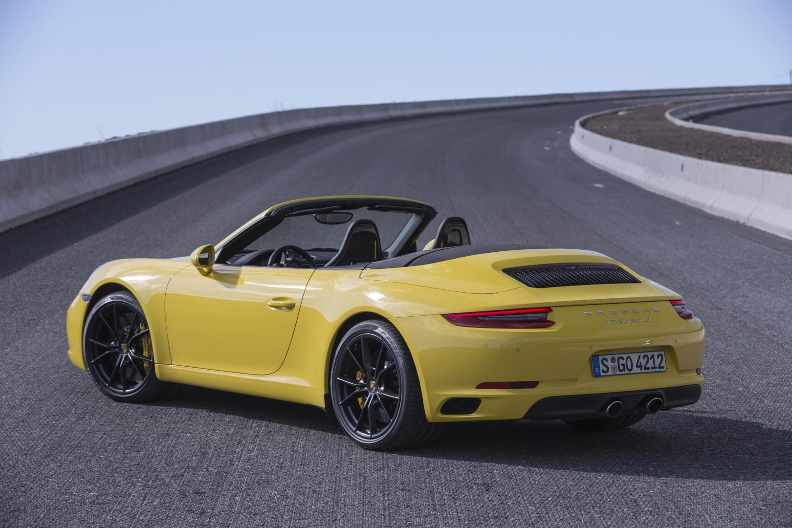 porsche 911 carrera s cabrio test en specificaties 2016. Black Bedroom Furniture Sets. Home Design Ideas