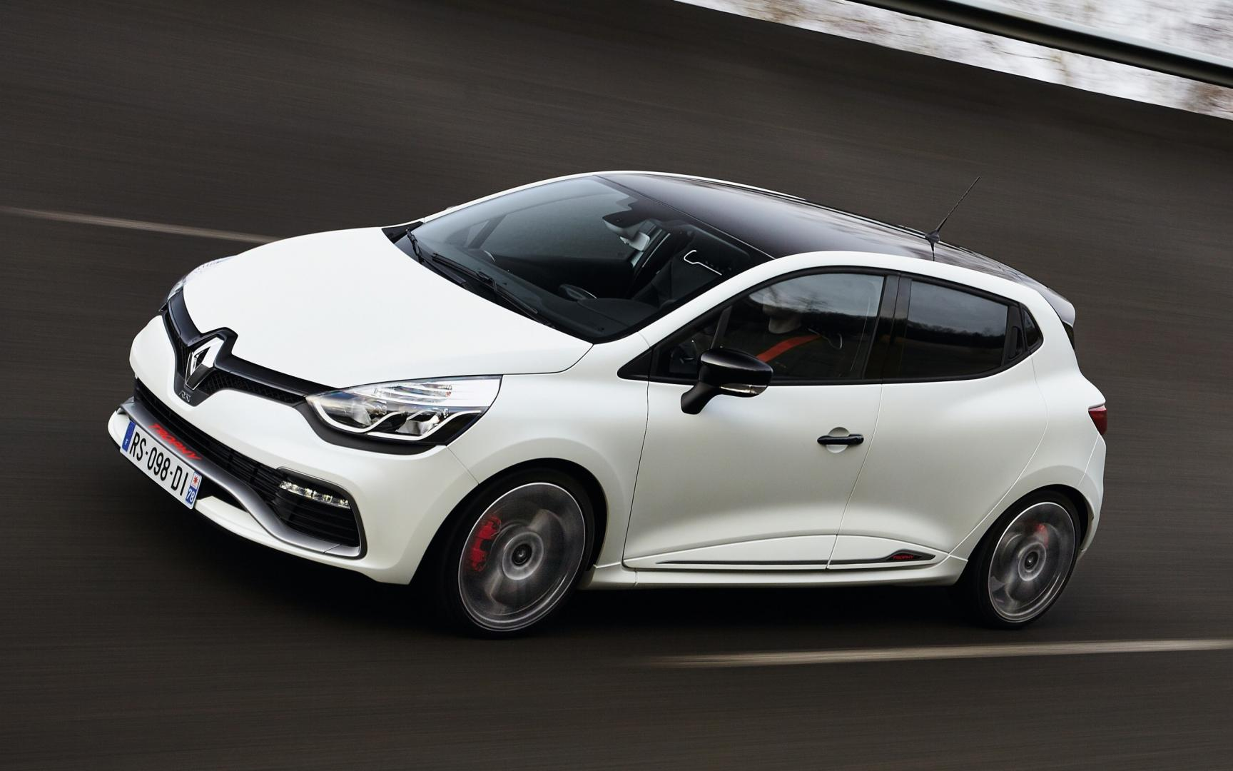 renault clio rs 220 edc trophy 2016 test en specificaties topgear. Black Bedroom Furniture Sets. Home Design Ideas