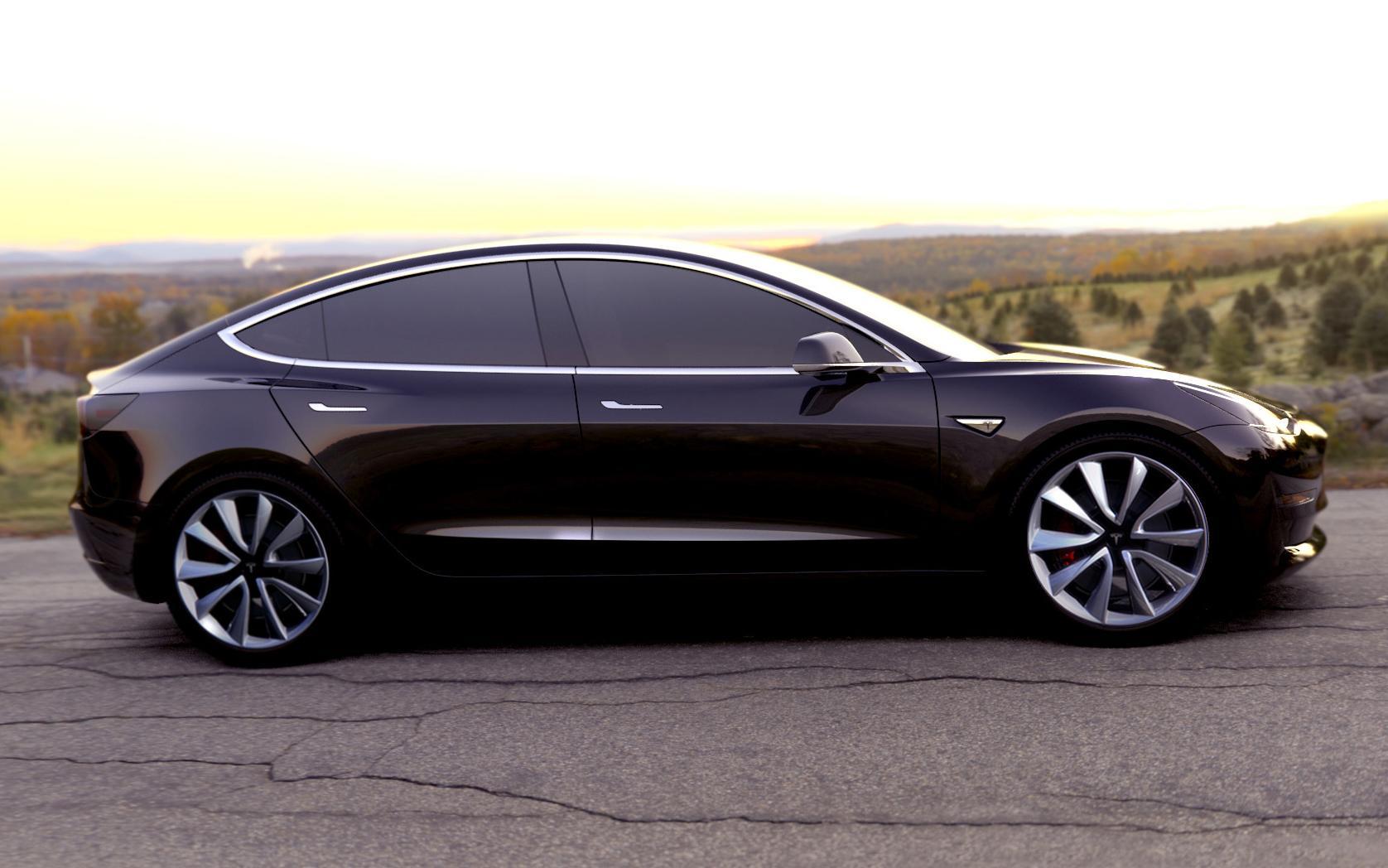 Tesla model 3 je nieuwe hebbeding topgear for Interieur tesla model s