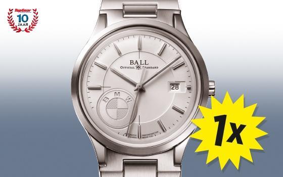 10 Jaar Topgear Win Een Ball For Bmw Horloge Topgear