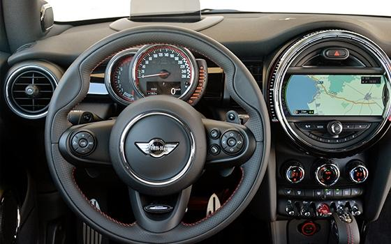 Mini John Cooper Works interieur (2015)