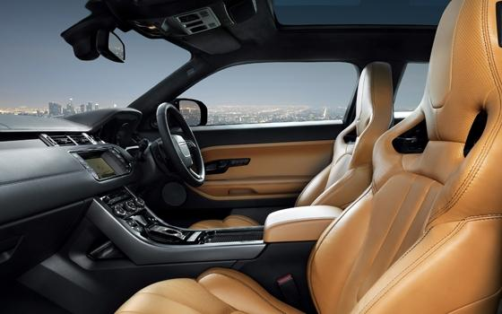 Rr evoque door victoria beckham topgear for Interieur evoque