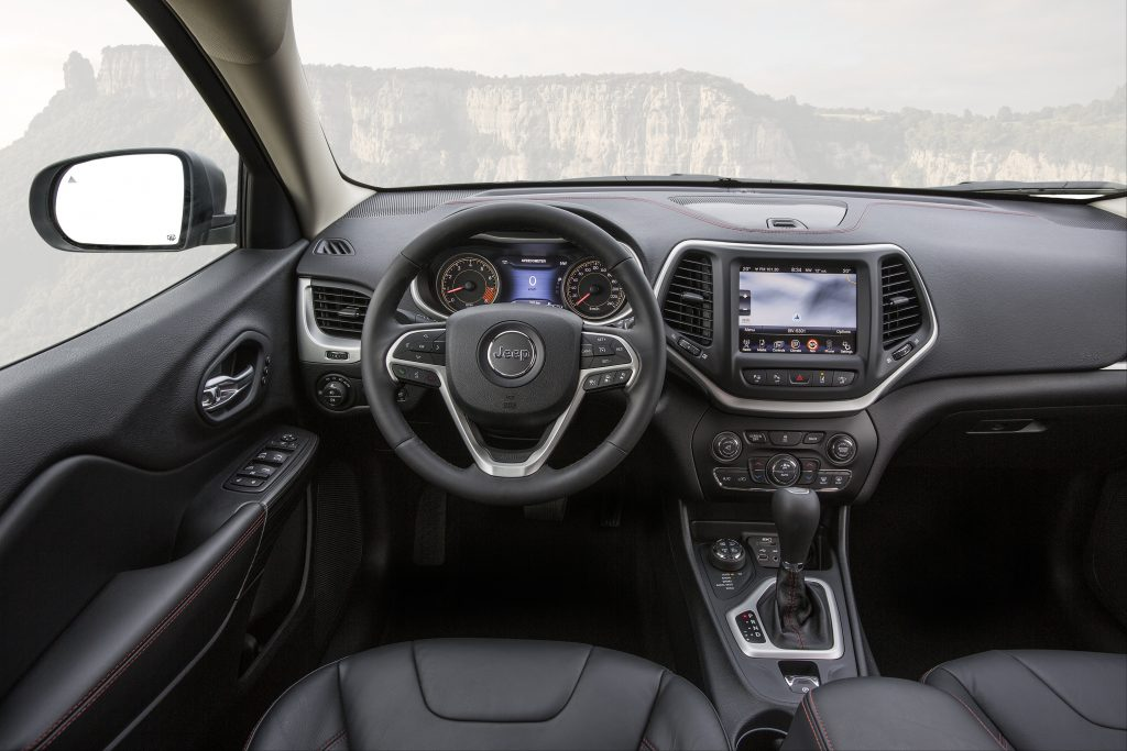 Jeep Cherokee 2.0 Limited interieur (2014)