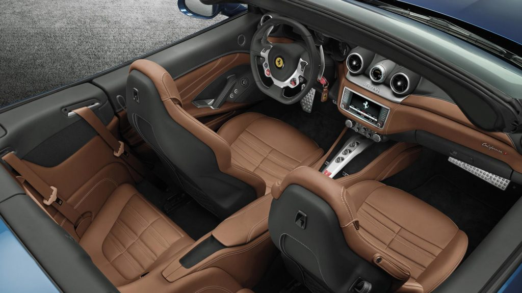 Ferrari California T interieur (2014)
